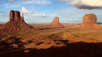 View of Monument Valley in Utah