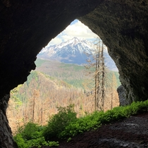 View of Mt Jefferson from Boca Cave on Triangulation Peak OR