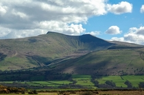View of Pen Y Fan from the Brecon Beacons - Wales