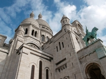 View of Sacre Coeur in Paris