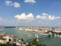 View of the Danube River Budapest