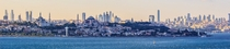 View of the European side of Istanbul from the southern entrance to the Bosphorus by Ben Morlok