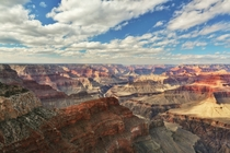 View of the Grand Canyon from Hopi Point taken yesterday