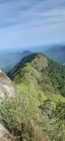View of the Western Ghats Mountain Range From KeralaIndia