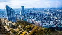 View of Tokyo from the Metropolitan Government Building
