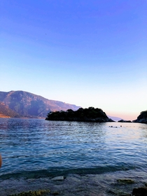View off of the coast of Fethiye Turkey