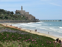 View towards Jaffa from Tel Aviv