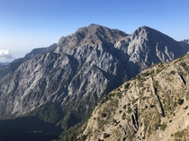Views of Gigilos and Samaria Gorge Crete