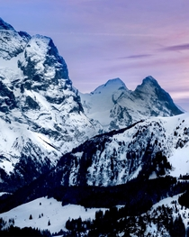 Views of the Swiss Alps The Eiger