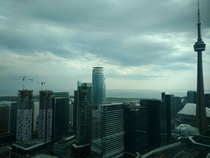 Views of Torontos Lakeshore from my office