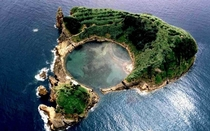 Vila Francas Islet Azores Archipelago Portugal  - How can that be so spherical