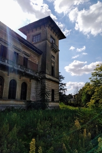 Villa Cerri also know as Villa Degli Amanti Maledetti House of the Cursed Lovers - Lomello Italy