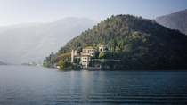 Villa del Balbianello in Lake Como Italy