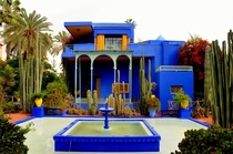 Villa Majorelle Marrakech Morocco Paul Sinoir and Jacques Majorelle