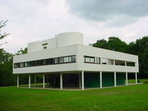 Villa Savoye in Poissy France by Le Corbusier and Pierre Jeanneret