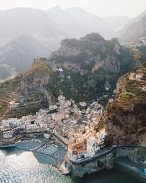 Villa Treville Positano a cliffside village on southern Italys Amalfi coast