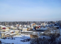 Village near Angarsk Russia