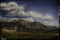 Vintage Utah - Heading towards Zion National Park