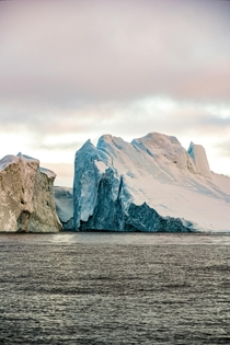 Visit Greenland had the tagline Rough Real Remote a few years back and I think these colliding icebergs embody that Ilulissat Greenland