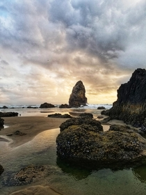 Visited Cannon Beach for the first time It was truly breath taking