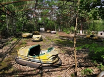 Visited chernobyl last week The overgrown amusementpark of Pripyat