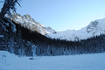 Visited Middle Joffre Lake in BC Canada this morning