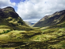 Visited Scotland last week was blown away by the beauty of Glen Coe