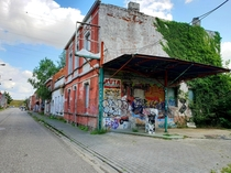 Visited the ghost town of Doel Belgium recently which was abandoned due to expansion plans for the harbor of Antwerp and is situated next to a nuclear power plant