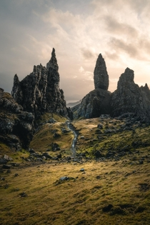 Visited the Isle of Skye and Oldman of Storr pictured this weekend and got pure Middle Earth vibes