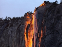 Visited Yosemite saw Firefall absolutely gorgeous
