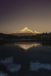 Visiting Trillium Lake was a dream  relativebrand