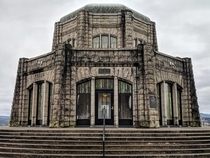 Vista House at Crown Point Multnomah County Oregon