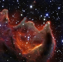 VLT image of the cometary globule CG