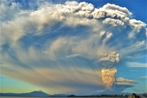 Volcan Calbuco eruption  years ago On this Earth Day dont forget the power and beauty of nature