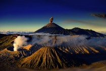 Volcanoes and lots of them Mount Bromo Indonesia