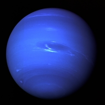 Voyager image of Neptune