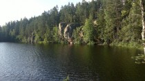 Vuorijrvi Pirkanmaa Finland - Great steep cliffs with an awesome camping spot underneath