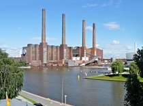 VW Cogeneration plant Wolfsburg Germany July  by Ralf Roletschek x-post rHI_Res WARNING  MB