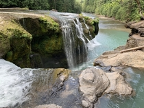 WA State is the best state Lower Lewis Falls Gifford Pinchot NF