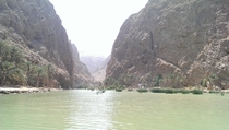 Wadi Shab Oman  Taken from my phone