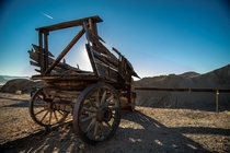 Wagon in Calico Ghost Town CA  Photo Credit Michael Solomon