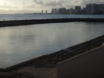 Waikiki War Memorial Natatorium aka abandoned swimming pool