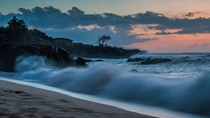 Waimea Bay at Sunset