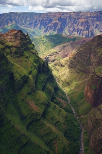 Waimea Canyon Kauai Hawaii USA