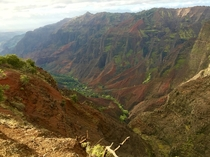 Waimea Canyon Waimea Kauai photographed by Sam Blackman