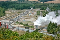 Wairakei Geothermal Power Station New Zealand