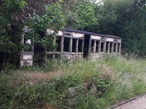 Waiting room of Ashdon Halt disused since
