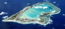 Wake Island is a coral atoll