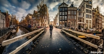 Walking into Amsterdam by Stanley Chen Xi