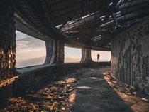 Walkway at Buzludzha Bulgaria Photo credit to Natalya Letunova